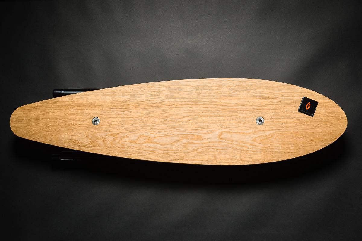 Trabbic Skate Oak balansebrett - ståbrett til hev senk bord